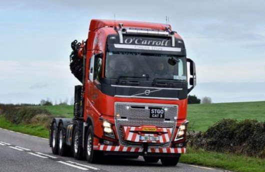 New Truck Crane Addition to our Fleet O'Carroll Haulage