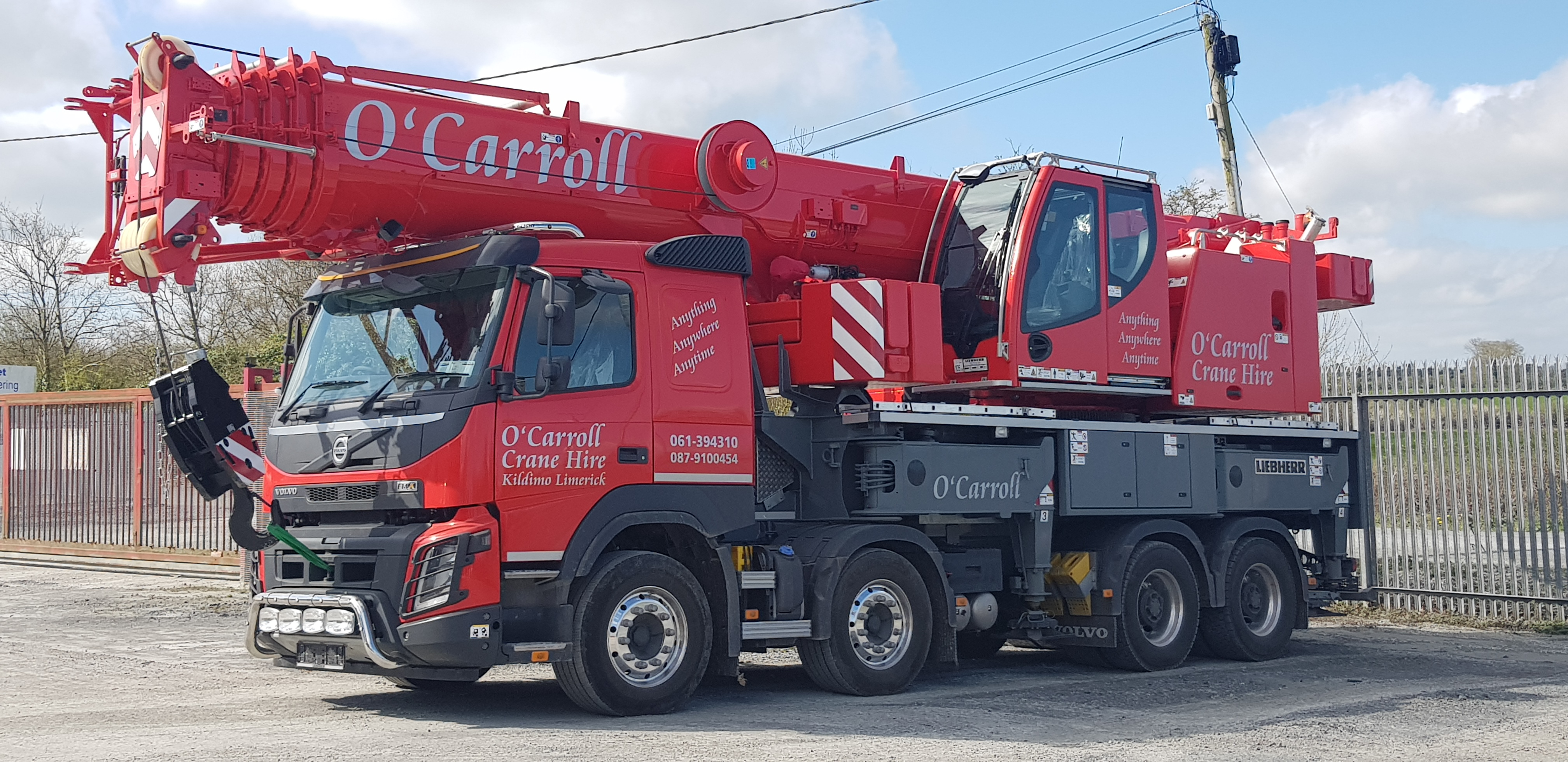 New LTF1060-4 1 now available for hire O'Carroll Haulage